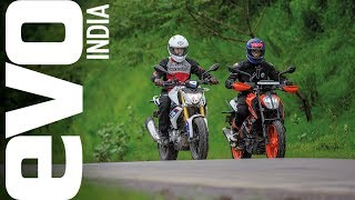 Download Comparison test: Can the BMW G 310 R better the benchmark set by the IMOTY winning KTM 390 Duke? Video