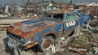 Download Abandoned Muscle Cars In America 2016. Old abandoned drag and rare cars in junkyard. Video