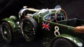 Download Scale model : Bentley 4.5 L Blower Revell : complete build Video