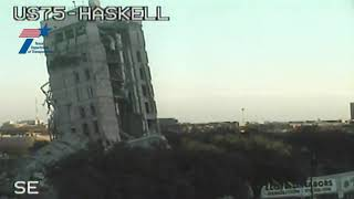 Download Crews go to plan B after implosion fails to completely demolish Dallas building Video