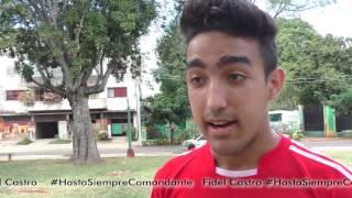 Download Los cubanos dicen #HastaSiempreComandante Fidel Castro Video