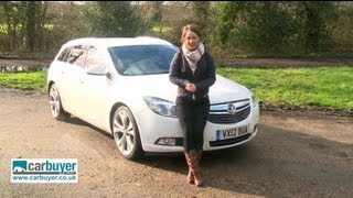 Download Vauxhall Insignia Sports Tourer estate 2013 review - CarBuyer Video