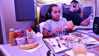 Download GOING ON HOLIDAY!! Business Class Airplane Flight Video