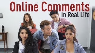 Download Online Comments In Real Life Video
