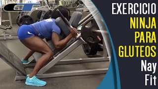 Download Exercício NINJA Para BUMBUM Redondo E Posterior De COXA Video