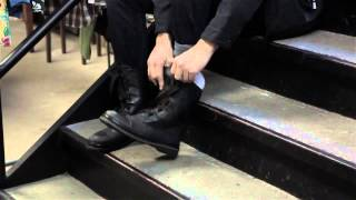 Download How to Cuff Long & Wide Jeans Into Boots : Men's Fashion Video
