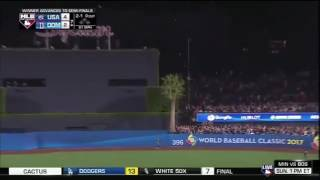 Download Adam Jones Robs Manny Machado of a home run with a SPECTACULAR catch! World Baseball Classic Video