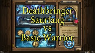 Download Hearthstone: Deathbringer Saurfang with a Basic Warrior Deck Video
