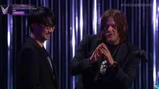 Download Hideo Kojima and Norman Reedus - Game Awards 2017 HD Video