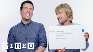 Download Owen Wilson & Ed Helms Answer the Web's Most Searched Questions | WIRED Video
