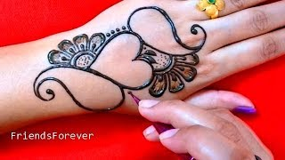 Download So Amazing Heart Henna Design | Very beautiful mehndi designs for hand | 2019 Video
