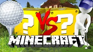Download Minecraft: GOLF WITH YOUR FRIENDS LUCKY BLOCK CHALLENGE | THE 5-HOLE CHALLENGE Video