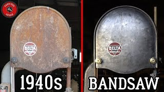 Download 1940s Large Bandsaw [DiRestoration] Video