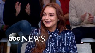 Download Lindsay Lohan says she's 'comfortable' being back in the spotlight Video