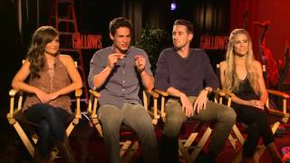 Download The Gallows - Behind the scenes cast interviews Video