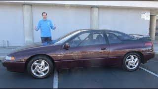 Download The Subaru SVX Is the Weirdest Subaru Ever Video