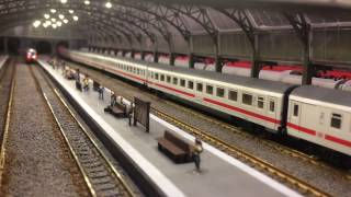 Download Trenes actuales, escala N, en Alemania. Maqueta de CMT. Video
