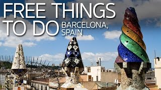 Download Free Things to Do in Barcelona Spain Video