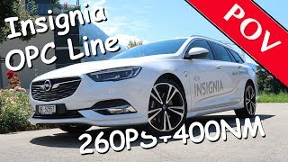 Download 2017 Opel Insignia ST OPC Line 4x4 - 260PS/400NM | POV | Patrick3331 drives/tested... Video