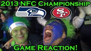 Download Reacting to the 2013 NFC Championship-Seahawks vs 49ers Video