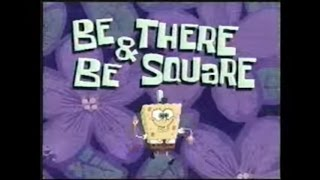 Download Old Spongebob Teaser Trailer-Be There And Be Square (Rare) Video