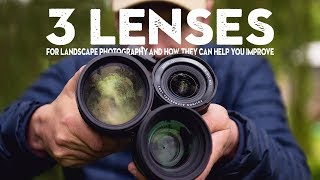 Download 3 ESSENTIAL lenses for landscape photography (and how to use them) Video