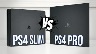 Download PS4 PRO vs PS4 Slim | Comparison Video
