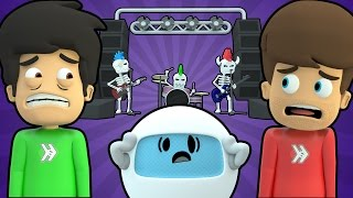 Download ROCKIN' GUITAR BAND DEMONS FROM HELL (Super Smosh #19) Video