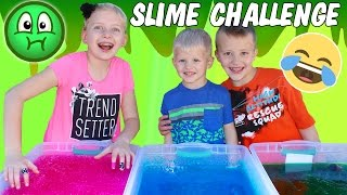 Download Gelli Baff Toy Slime Challenge & Huge Slime Throwing Contest - Hidden Candy! Family Fun Pack Video