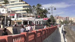 Download A Walk from Benalmadena to Torremolinos, Costa Del Sol, Spain - 8th April, 2013 Video