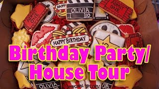 Download House Tour/Birthday Party Decorations Video