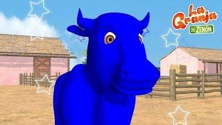 Download Pinta y Limpia a La Vaca Lola - Aprende los Colores en La Granja - La Granja de Zenón Video