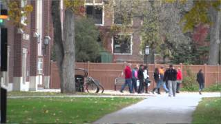 Download University of North Dakota Students Lead Prospective Students on Campus Tours Video