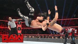 Download Seth Rollins, Finn Bálor & Big Cass vs. Samoa Joe, Luke Gallows & Karl Anderson: Raw, April 24, 2017 Video