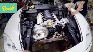 Download Giving the Corvette a New LS Heart! Sort of. | Drift Corvette Build w/Matt Field Video