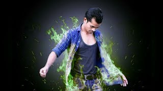 Download Picsart Manipulation Green Flame Effect New Awesome Editing    Picsart Tutorial Best Manipulation Video
