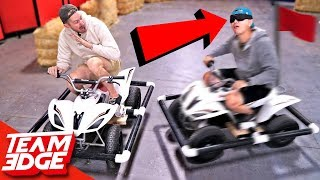 Download Marco Polo Battle on ATVs!! (We're Idiots) Video