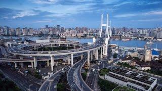 Download Shanghai! Nanpu Bridge 2017! HD! Video