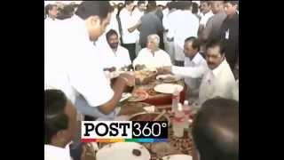 Download KCR eating Hyderabadi Biryani Video