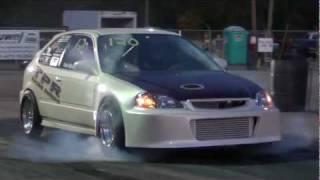 Download 9 second turbo Honda Civic Thursday Night Lightz Video