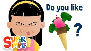 Download Do You Like Broccoli Ice Cream? | Super Simple Songs Video