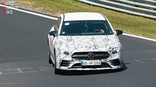 Download 2019 MERCEDES-AMG A35 SPIED TESTING AT THE NÜRBURGRING Video
