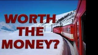 Download Switzerland Glacier Express Train St. Mortiz to Zermatt Review: Is it Worth the Money? Video