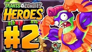 Download ZOMBIE HQ UNLOCKED | Plants Vs Zombies Heroes Gameplay Walkthrough Part 2 (New PVZ Heroes Ep 2) Video