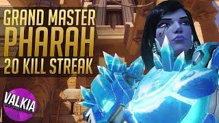 Download Grand Master Pharah - 20 Kill Streak (Anubis Hold)    Valkia Video