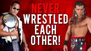 Download The Real Reason Why The Rock & Shawn Michael's Never Wrestled Each Other! Video