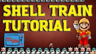 Download Super Mario Maker Tips & Tricks - Shell Train Tutorial Video