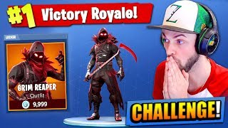 Download The GRIM REAPER CHALLENGE in Fortnite: Battle Royale! Video