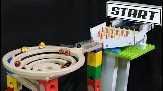 Download Amazing marble race: Cyclone QUADRILLA - mini tournament elimination marble run Video