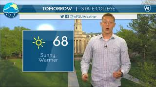 Download JP's Tuesday Afternoon Forecast Video